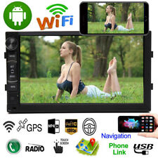 7 Inch 2DIN Android 8.1 Car Stereo GPS Navigation Radio MP5 Player WIFI/BT/FM/AM