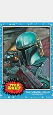 TOPPS STAR WARS LIVING SET CARD THE MANDALORIAN #146