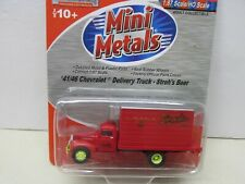 ~Mini Metals~ '41/46 Chevrolet-Delivery Truck-Stroh'S Beer~ Lot B~ Ho Scale