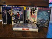 7 Cassette Tape Lot