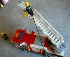 SET LEGO 60002 - [ LA GRANDE ECHELLE DES POMPIERS ] - 9 PHOTOS