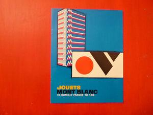 CATALOGUE JOUETS MONT-BLANC 1968