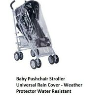 Baby Pushchair Stroller Universal Rain Cover - Weather Protector Water Resistant