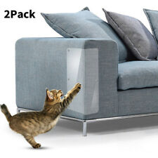 2x Cat Scratch Guard Sofa Furniture Cats Scratching Protect Pad Paw Clawing Care