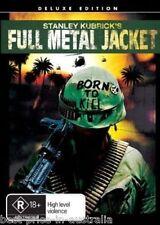 Full Metal Jacket DVD TOP 250 MOVIES Director Stanley Kubrick BRAND NEW R4