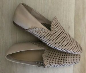AS NEW WITTNER LADERA LEATHER FLATS / SHOES - SIZE 40 ❤️
