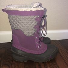 The North Face Shellista Lace III Purple Women's Winter Boots Size 6 (NF0A2YAX)