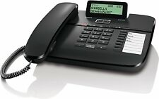 Gigaset DA810A Komforttelefon Anrufbeantworter, Display, CLIP, schwarz, neu, ovp