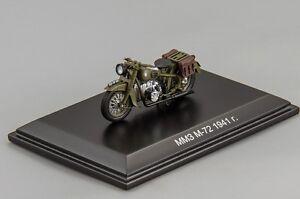 MMZ M-72 Motorcycles 1941 DIP Models resin 307204 1:43