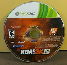 NBA 2K12 (XBOX 360) USED AND REFURBISHED (DISC ONLY) #10947