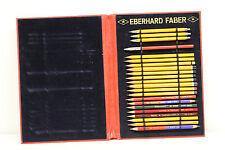 alte Mappe m. versch. Farbstiften von Eberhard Faber  Kosmos van Dyke Stenostift