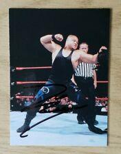 1999 Comic Images WWF Smackdown Authentic Autographed D' Lo Brown Card