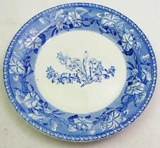 Wedgwood MORNING GLORY 2 Salad Plates vintage back stamp GREAT CONDITION