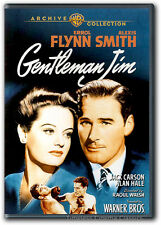 Gentleman Jim DVD New Errol Flynn Alexis Smith Jack Carson Alan Hale