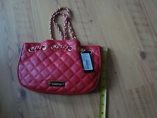 bebe chelsea x-body red purse new MSRP $59.00