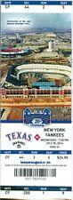 2014 Rangers vs Yankees Ticket: Brett Gardner & Jacoby Ellsbury hit HRs