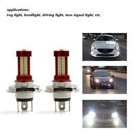 2PCS H4 40W 10000LM CREE LED Headlight Kit Beam Bulb 6500K White Car LED Light