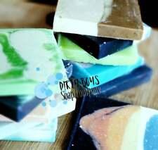 Handmade All-Natural Soap with Olive Oil,  Coconut Oil, Vitamin E - Vegan