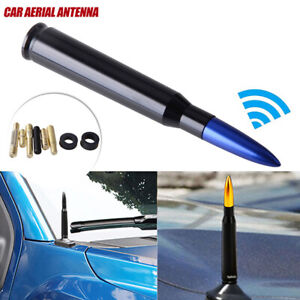 CNC Bullet AM/FM Antenna Mast Blue for Dodge RAM 1500 2500 3500 2010-2019