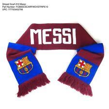 LIONEL MESSI #10 FC BARCELONA OFFICIALLY LICENSED BAR DESIGN SCARF