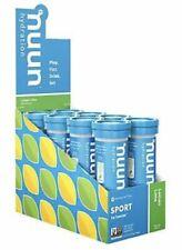 Nuun Sport Electrolyte Drink Tabs Lemon Lime 8 Tubes x 10 Tabs each