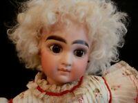 "Wilhelm Dehler Antique Doll Made IN Germany 13 1/2"""