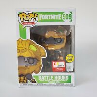 Fortnite Battle Hound E3 2019 Limited Edition FUNKO POP! #509 Glows in the Dark