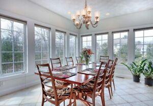Beautiful Rosewood Dining Room Set
