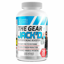 MAX'S Lab Series The Gear JACK'D Testosterone Booster - 120 Capsules