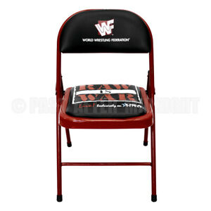 WWF Wrestling RAW IS WAR Ringside Chair - Vintage - FREE Shipping!