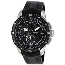Tissot T-Navigator Automatic Black Dial Stainless Steel Mens Watch