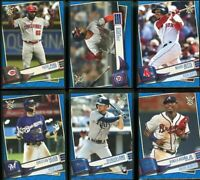 2019 Topps Big League baseball Blue Parallel #201-400 - Pick Your Player
