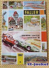 Faller  -- Modellbau Jahres Katalog 1967  - Sprache Niederländisch !
