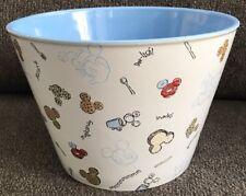 "6.25"" H, 9"" W DISNEY STORE Snacks Bowl Mickey Donald Goofy LARGE Popcorn,Cookie"