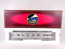 More details for mth rail king santa fe 70' passenger observation car o gauge scale 0-42 rare