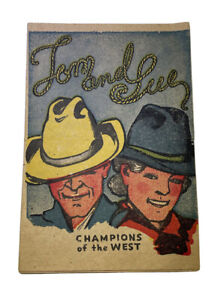 Vintage Tom And Sue Comic Book Western Mini 1950s RARE SHIPS FREE IN USA