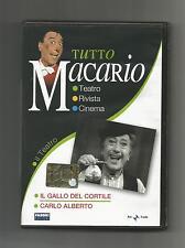 DVD TUTTO MACARIO Il Gallo Del Cortile - Carlo Alberto - ORIGINALE EDIZIONE 2007