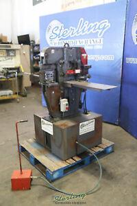 50 Ton, Used  Edwards Hydraulic Ironworker, Mdl. Jaws IV, A6157