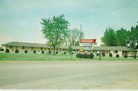 Postcard Kinney's Motel Dublin Indiana