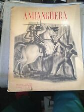 HEKEL TAVARES, ANHANGUERA, signed Programme with Long playing record 1956