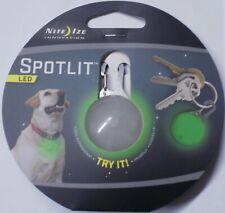 Nite Ize Spotlit Green LED Carabiner Light SLG-03-28