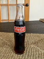 Vintage Rare Never Opened Glass Coca-Cola 300ml Bottle French/English..