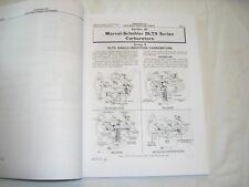 JOHN DEERE Carburetor Service Manual - 50 60 70 520 620