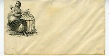 1860s Civil War Patriotic Cover  showing Liberty & Shield