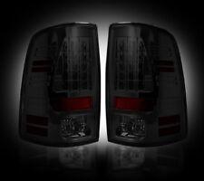 Recon 264169BK Smoke LED Tail Lights Dodge Ram 09-14