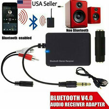 Wireless 3.5mm Portable Bluetooth Audio Stereo Receiver for Home TV Speaker US