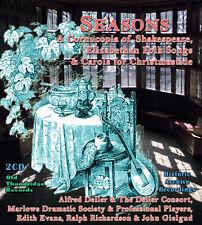 SEASONS A Cornucopia of Shakespeare, Folk Songs and Carols for Christmas 2x CD