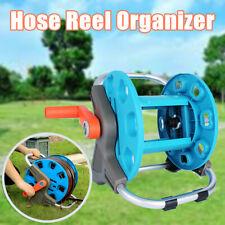 Portable Garden Water Pipe Hose Reel Cart Planting Holder Storage Organizer Rack