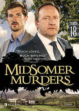 Midsomer Murders, Series 18,New DVD, Gwilyn Lee, Neil Dudgeon, Nick Laughland, M