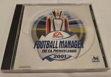Football Manager The F.A. Premier League 2001 EA Sports PC CD ROM selten